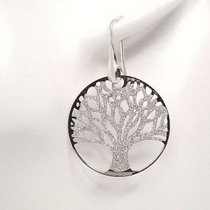 - sterling silver tree of life earrings